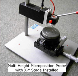 Multi Height Microposition Probe with X-Y Stage Installed